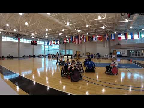 Detroit Wheelchair Rugby Club  versus St. Louis Period 2 (2018 03 18)
