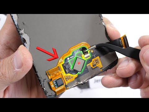 In-Glass Fingerprint Reader TEARDOWN! - How does it work?!