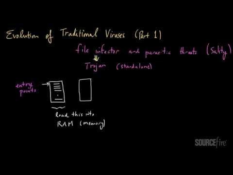 Evolution of Computer Viruses (Part 1)