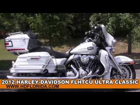 Used 2012 Harley Davidson Ultra Classic Motorcycles for sale Hudson Fl