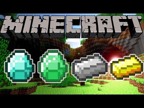 How to make a diamond,iron and gold generator in minecraft Easiest way