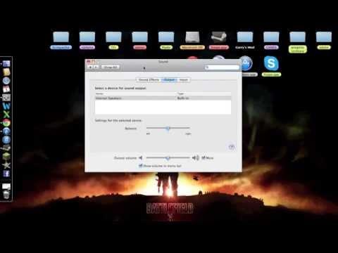 How to setup an USB Headset/Mic on Mac (logitech)