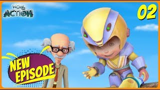 BEST SCENES of VIR THE ROBOT BOY | New Episode | Animated Series For Kids | #02 | WowKidz Action