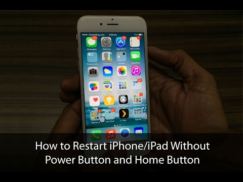 Restore  without home button or software