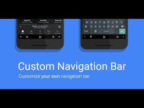 How to make your navigation bar look like nougat (no root) using Navbar app