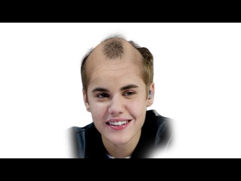 If Justin Bieber Was Bald - Face Morph 1994- 2017