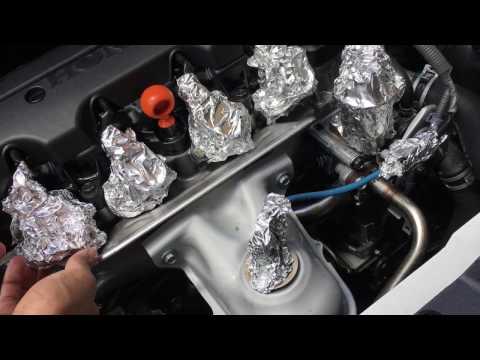 Honda Civic Engine Bay Wash DIY