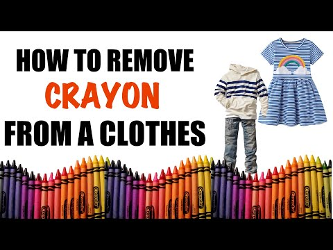How to Remove Crayon from Clothes