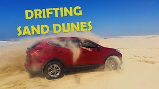4WD Drifting through sand dunes | PORT STEPHANS ADVENTURE!!!