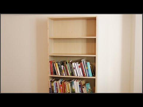 Assembling An Ikea Bookcase