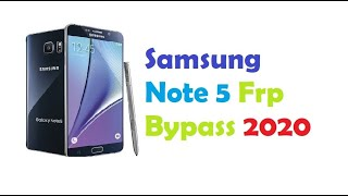 How To Bypass Google Account Samsung Galaxy Note 5 FRP