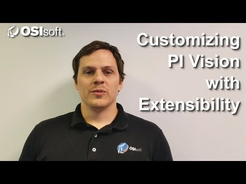 OSIsoft: Customizing PI Vision with Extensibility Online Course