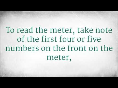 How to Read Your Gas Meter
