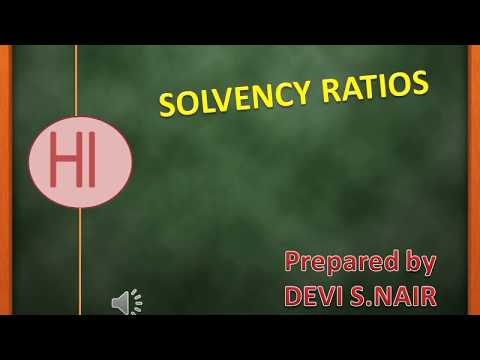 How to calculate Solvency or Leverage Ratio(Financial statement analysis-part of Ratio analysis)