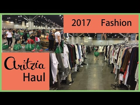 Aritzia Warehouse Sale 2017 Live ✿ Clothing Haul ❀ Try On ✦ Vancouver