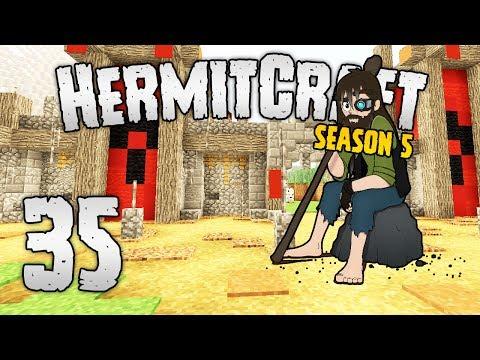 HermitCraft 5 - #35   ORC FORTRESS! [Minecraft 1.12]