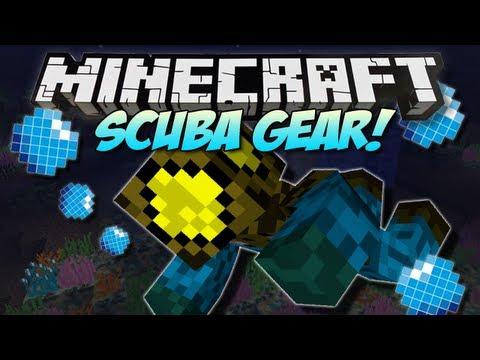 Minecraft   SCUBA GEAR!   Mod Showcase [1.4.7]