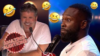 FUNNIEST Comedy Auditions That WON The GOLDEN BUZZER Amazing Auditions