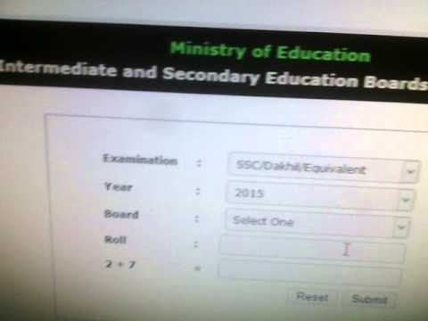 How To View Bd SSC Results Online