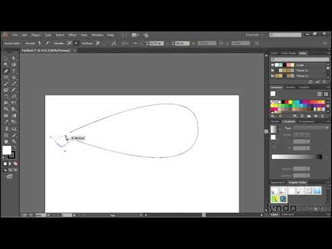 Drawing simple curves with the pen tool | Adobe Illustrator CC | lynda.com