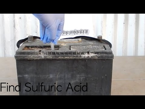 Where to find Sulfuric Acid