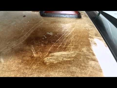 Clean Hydraulic Oil Without Scrubbing-  All Clean Cleans Everything