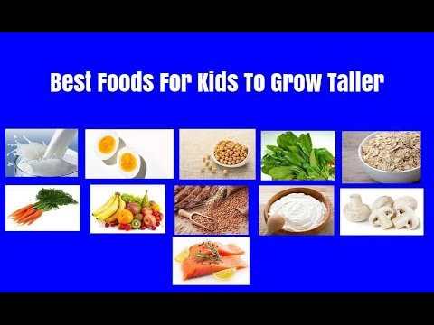 Best Foods For Kids To Grow Taller | Foods To Increase Height of Your Kids