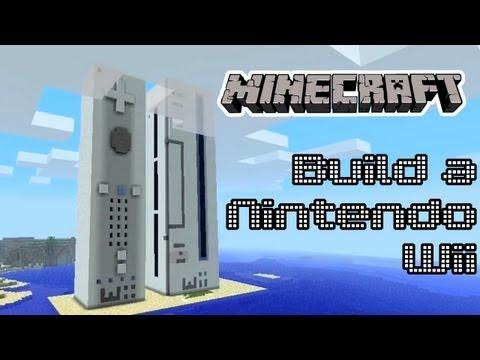 Minecraft - Build a Nintendo Wii