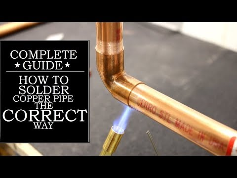 How to Solder Copper Pipe The CORRECT Way | GOT2LEARN