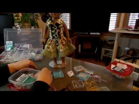 How to Make Hoop Earrings for Dolls