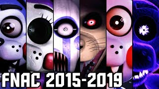 FNAC Remastered - All Jumpscares / Animatronics / Extras