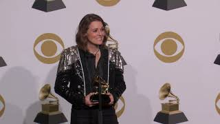 Brandi Carlile TV & Radio Room Interview | 2019 GRAMMYs
