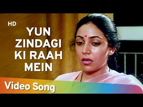 Yun Zindagi Ki Raah Mein - Deepti Naval - Farooque Sheikh - Saath Saath - Chitra Singh - Ghazals