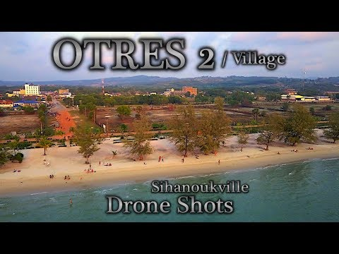 4k Drone Shots in Otres Village and Otres 2 Cambodia (CH3E12)