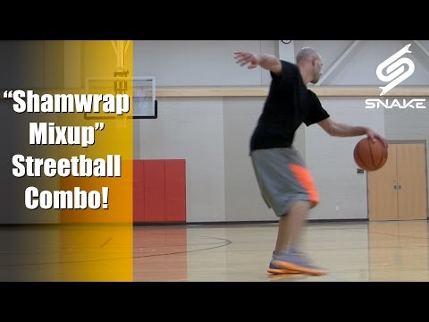 Shamwrap Mixup Combo - Streetball Crossover To Break Ankles & Embarrass Defenders!