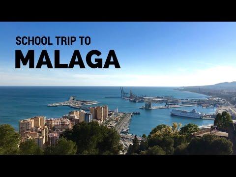 TRAVEL VLOG: School Trip To Malaga, Spain