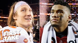 Download Trevor Lawrence is better than Tua and Clemson is better than Alabama - Paul Finebaum | First Take Video