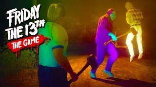 Hilarious Floating Chad Glitch! - Friday the 13th Game with The Crew!