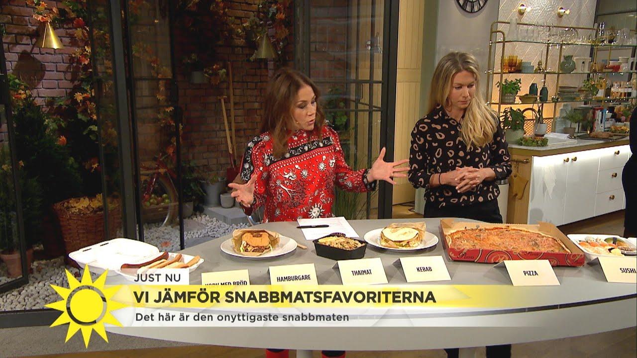 """Den snabbmatsrätten ska du undvika: """"För mycket av allt"""" - Nyhetsmorgon (TV4)"""