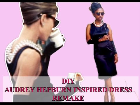 DIY clothes - Audrey Hepburn inspired dress// Iconic Remakes-1