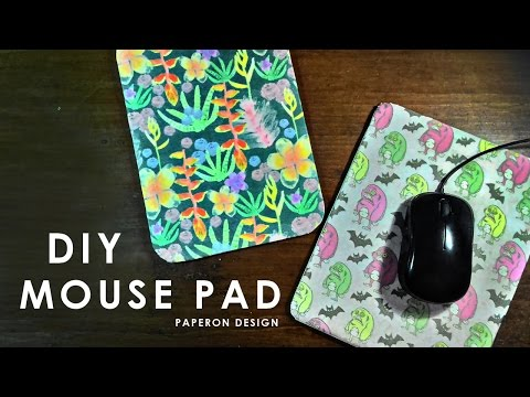 DIY Fabric Mouse Pad