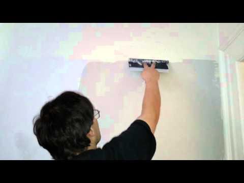 Diy how to remove wall texture orange peel 2nd coat