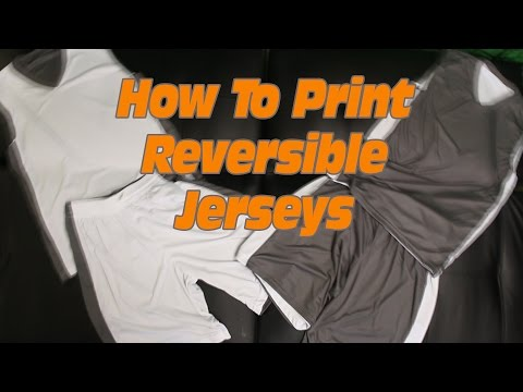 Printing Basketball Jerseys: How to Print T-shirts