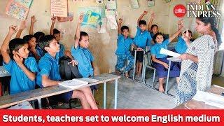 Andhra Pradesh: Students, teachers set to welcome English medium
