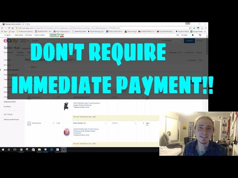 Drop Shipping eBay Why You SHOULDN'T Require Immediate Payment