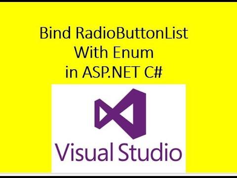 Bind RadioButtonList with Enum DataType in ASP.NET C#