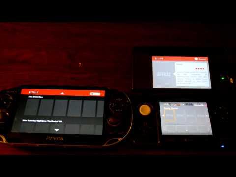 Vita vs 3DS - Netflix Comparison