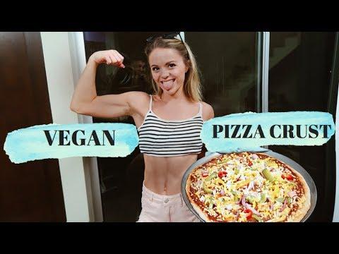 THE BEST VEGAN PIZZA RECIPE!