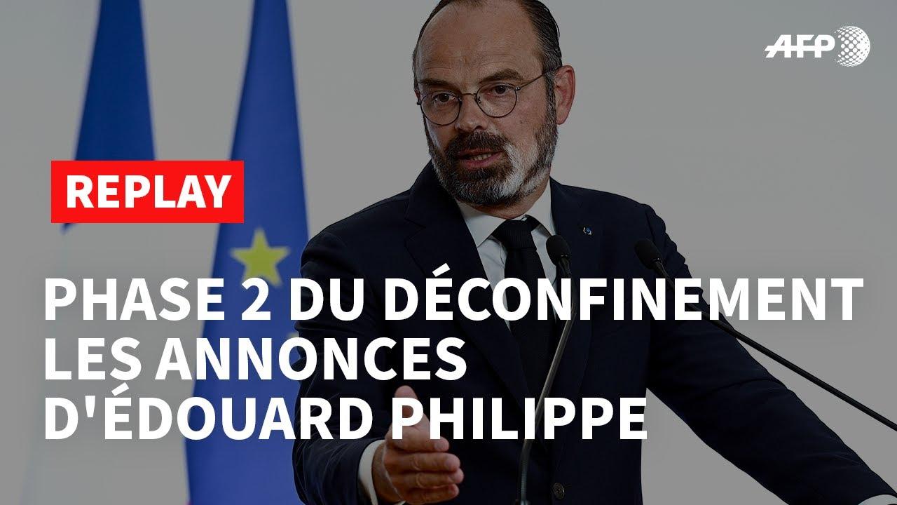 REPLAY - Déconfinement phase 2 : l'intégralité des annonces d'Edouard Philippe