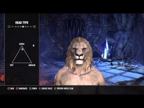 ESO - Khajiit - 'How to create' a Lion